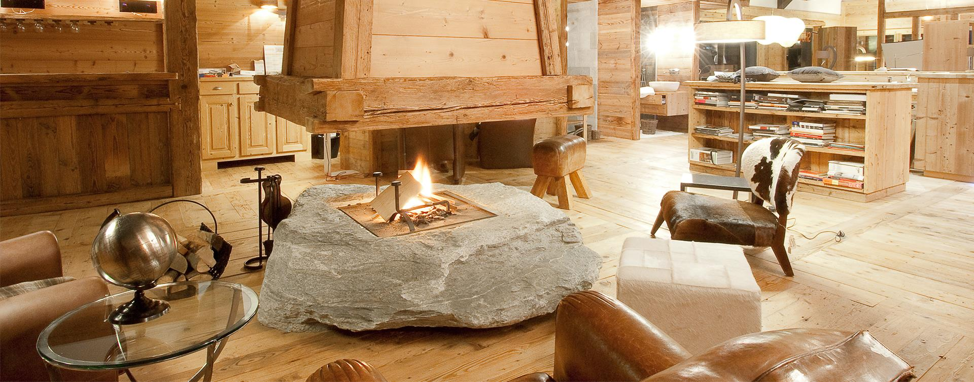 Mobilier Pour Chalet Montagne agencement & rénovation d'appartements et de chalets à megève